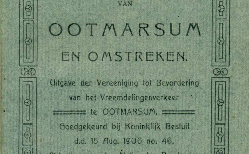 Bezoek aan de Jonkershoesweg 4 in 1906