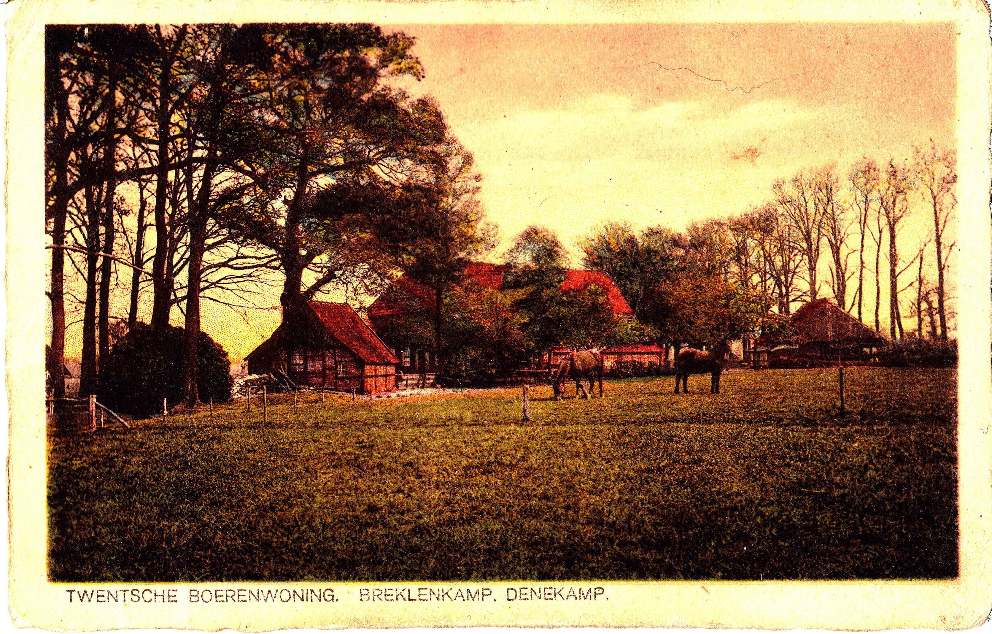 Erf van Helman aan de Jonkershoesweg 4 in Breklenkamp rond 1920?