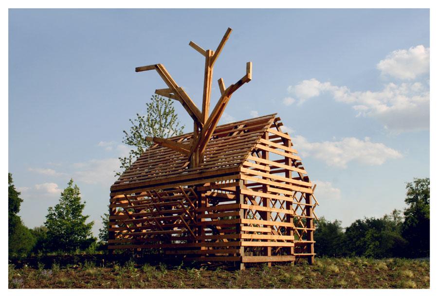 Ontwerp van studio Makkink & Bey op het terrein van Natura Docet